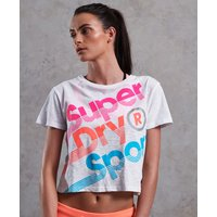 Superdry Hyper Sport Label Crop T-shirt