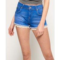 Superdry Lace Trim Hot Shorts