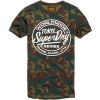 Superdry Urban Camo Long Line T-Shirt