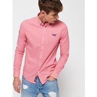 Superdry Premium Button Down Long Sleeve Shirt