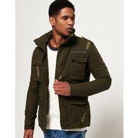 Superdry Rip & Repair Rookie Military Jacket