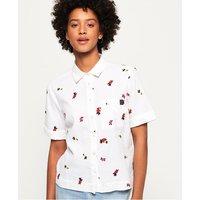 Superdry Kayla Cropped Boxy Shirt