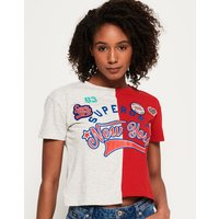 Superdry Pacific Splice Americana T-shirt