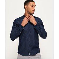 Superdry Tailored Indigo Loom Shirt
