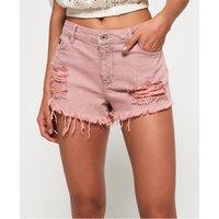 Superdry Eliza Cut Off Denim Shorts