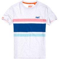 Superdry Orange Label Hardwick Stripe T-Shirt