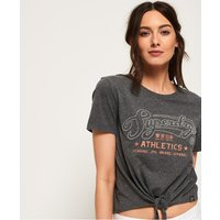 Superdry Athletics Knot Front T-Shirt