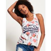 Superdry Vintage Logo All Over Print Vest Top