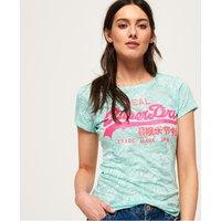 Superdry Vintage Logo Burnout T-Shirt