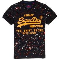 Superdry Shirt Shop Splatter T-Shirt