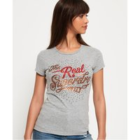 Superdry Rock Rhinestone T-Shirt