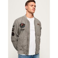 Superdry Rookie Duty Patch Bomber Jacket