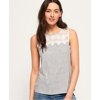 Superdry Island Lace Tank Top