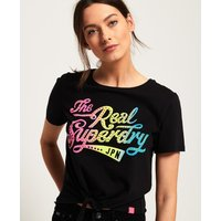 Superdry The Real SDry Knot Front T-Shirt