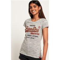Superdry Shirt Shop Stripe T-Shirt