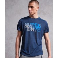 Superdry Active Microvent Graphic T-Shirt