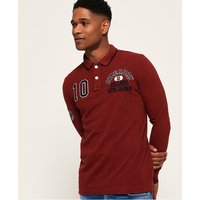 Superdry Classic Superstate Long Sleeve Polo Shirt