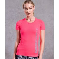 Superdry Core Fitted Mesh Panel T-Shirt