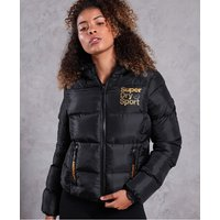 Superdry Gym Tech Gold Puffa Jacket