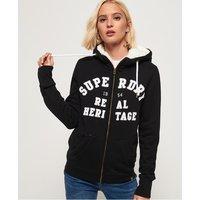 Superdry Aria Applique Zip Hoodie