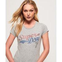 Superdry Tokyo 7 Rhinestone T-Shirt