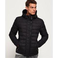 Superdry Hooded Double Zip Tweed Fuji Jacket