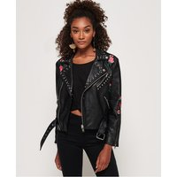 Superdry Georgia Studded Biker Jacket