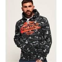 Superdry High Flyers Camo All Over Print Hoodie