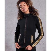 Superdry Gym Tech Gold Zip Hoodie