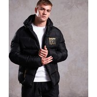 Superdry Gym Tech Gold Puffer Jacket