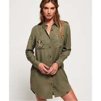 Superdry Cora Military Shirt Dress