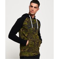 Superdry Sweat Shirt Shop Camo Raglan Hoodie