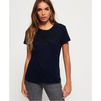 Superdry Lex Lace Panelled Top