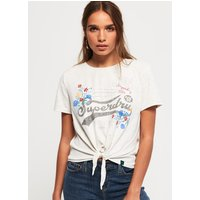 Superdry High Flyers Floral Knot Front T-Shirt