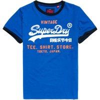 Superdry Camiseta con ribetes retro Shirt Shop