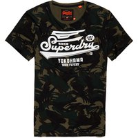 Superdry High Flyers Camo T-Shirt