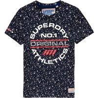 Superdry Trophy Print Splat T-Shirt