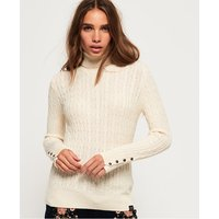 Superdry Croyde Roll Neck Cable Knit Jumper