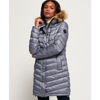 Superdry Chevron Faux Fur Super Fuji Jacket