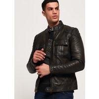 Superdry Endurance Moto X Leather Jacket