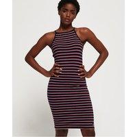 Superdry Strappy Stripe Midi Dress