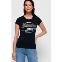 Superdry Premium Goods Star Stud T-Shirt