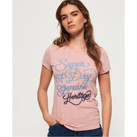 Superdry 67 Genuine Fade Embroidery T-Shirt