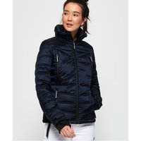 Superdry Slim Chevron Funnel Puffer Jacket