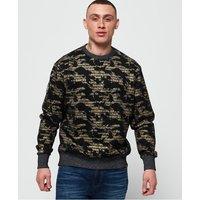 Superdry International Monochrome Oversized Sweatshirt