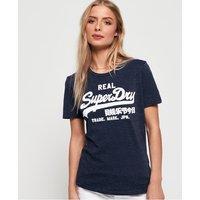 Superdry Vintage Logo Sparkle Stripe T-Shirt