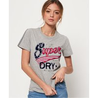 Superdry American Script Flock t-shirt