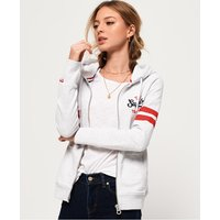 Superdry Track And Field Lightweight Zip Hoodie