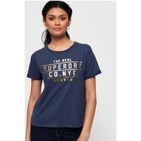 Superdry Premium NYC Foil Boxy T-Shirt