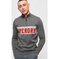 Superdry Tri Colour Henley Jumper